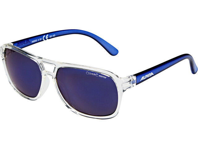 Alpina Yalla Kids Glasses clear-blue